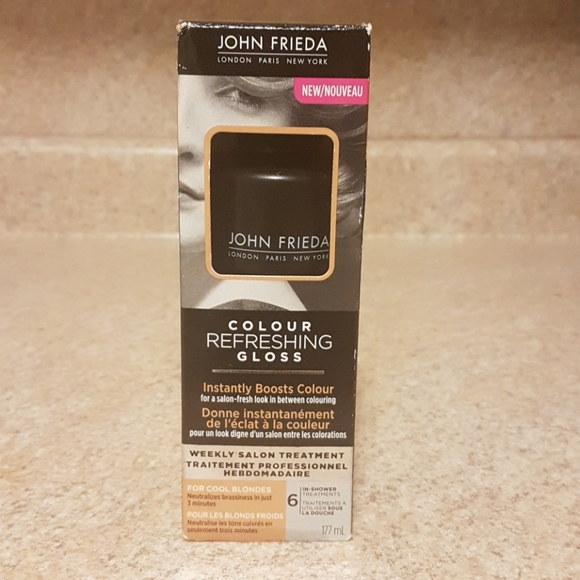 NWT John Frieda Colour Refreshing Gloss - Blondes